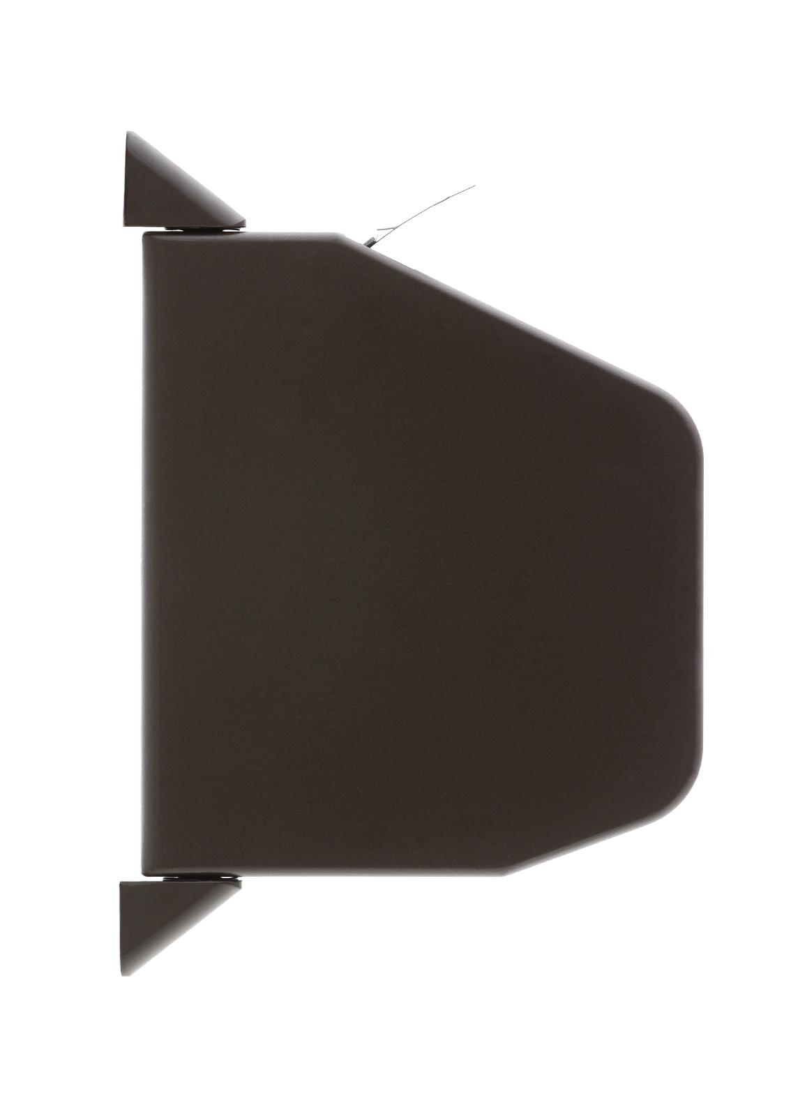 Új-klasszikus típusú, barna színű redőnyautomata